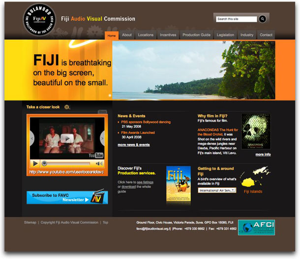 Fiji Audio Visual Commission - FAVC