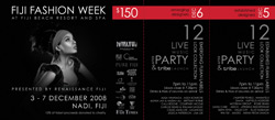 Fiji Fashion Week Ticket